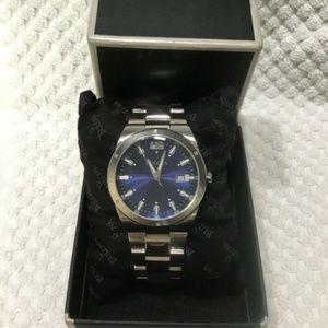 Bulova 96B220 Classic Blue Dial Watch NWT